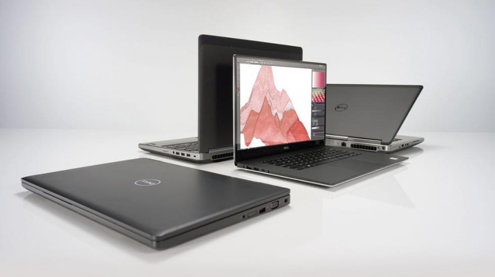 Dell Precision 17 7720 to ciekawie wyglądająca podświetlana klawiatura, 17, cala ekranu, 32 giga pamięci ram, system operacyjny Windows 10, matowa matryca, mocny procesor Core i7 siódmej generacji, dysk twardy 256 giga SSD + dysk 1000 giga HDD, Bluetooth, jeden port HDMI, porty typu USB, czytnik kart pamięci, pojemna bateria i niska masa własna