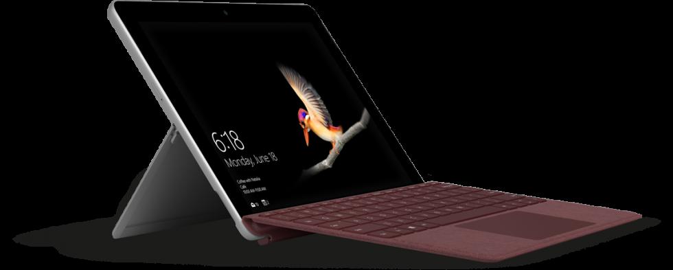 Microsoft Surface Go jest zdecydowanie sprzętem bardzo ładnym